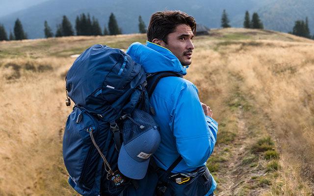 Männer Trekking